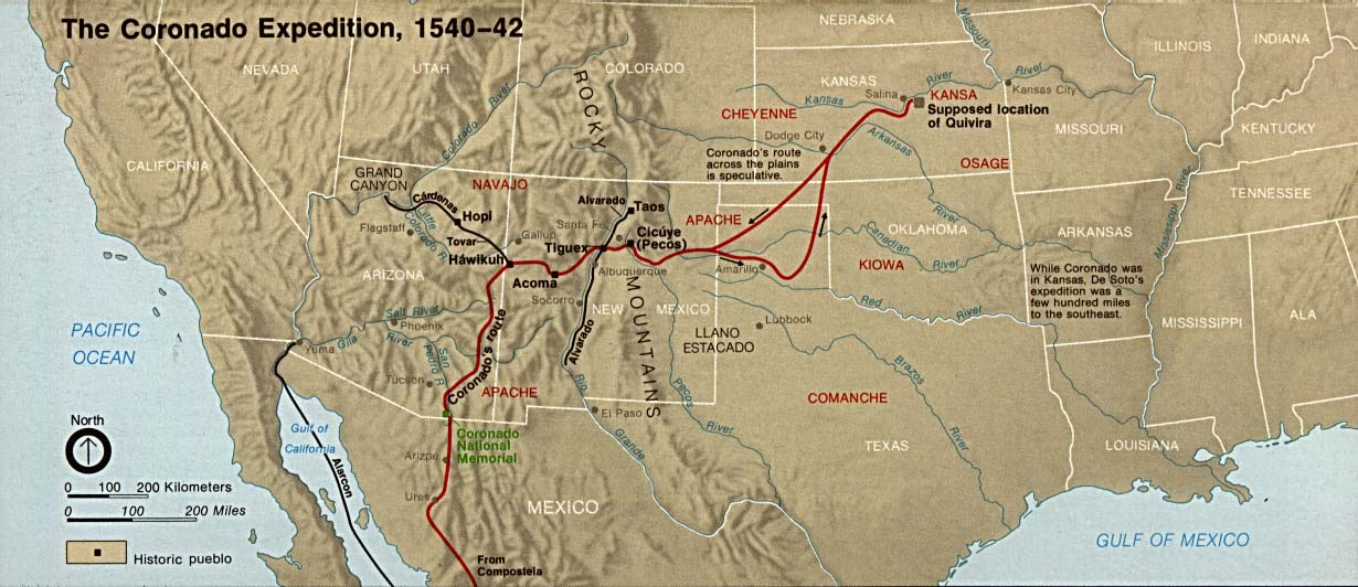 Early Explorers of Texas: Process