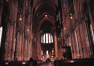 Chartres Cathedral-Interior